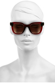 Thierry Lasry Square-frame acetate and metal sunglasses