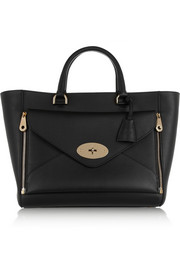 The Willow leather tote