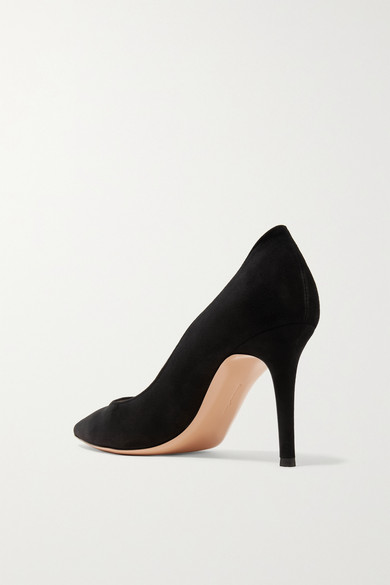 Gianvito Rossi 85 Pumps aus Veloursleder