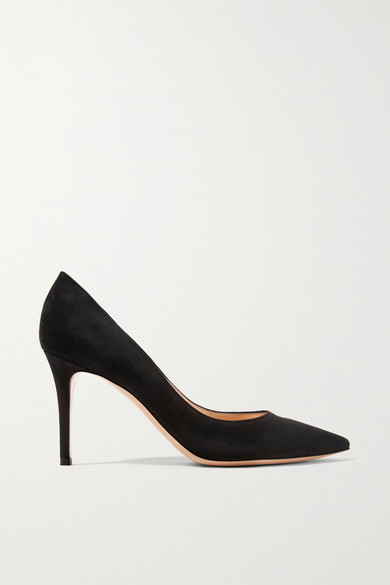 bef49ece000 85 suede pumps