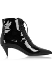 Saint Laurent Patent-leather ankle boots