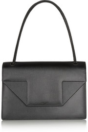 Saint Laurent Betty Jumbo textured-leather shoulder bag