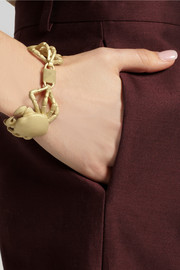 Valentino Cancer gold-tone bracelet