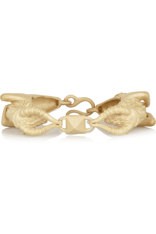 Valentino Capricorn gold-tone bracelet