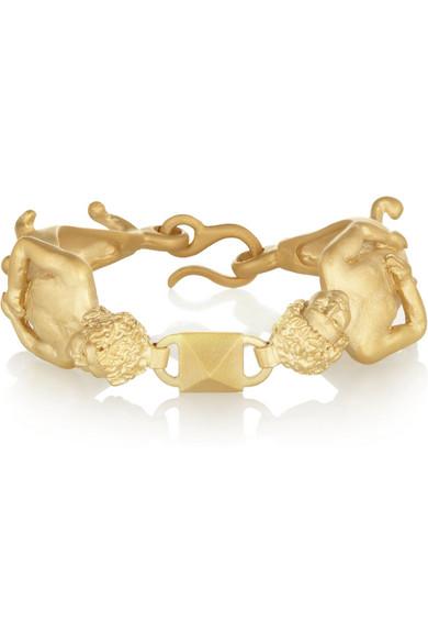 Valentino Capricorn Gold-tone Bracelet 59Dsl