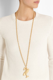 Valentino Pisces gold-tone necklace