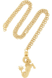 Valentino Aries gold-tone necklace