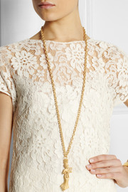 Valentino Libra gold-tone necklace