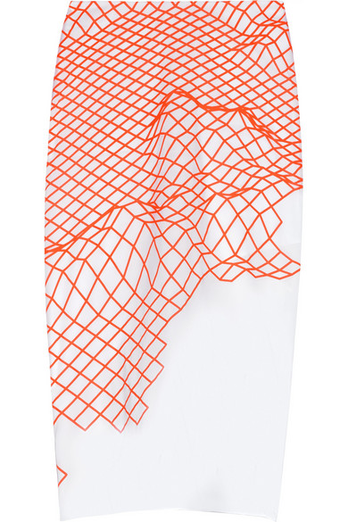Sale alerts for Cycle printed stretch-organza pencil skirt Dion Lee - Covvet