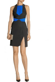 Dion Lee Pleated scuba-jersey dress