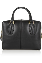 Tod's D-Cube Bauletto medium leather tote