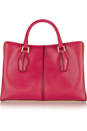 Tod's D-Cube Shopping small leather tote
