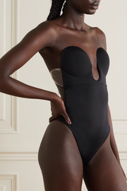 U-Plunge self-adhesive backless bodysuit
