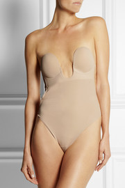 Fashion Forms U-Plunge self-adhesive backless thong bodysuit
