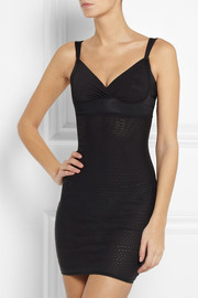 DMondaine Victoria stretch-mesh shaping slip