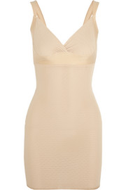 Victoria stretch-mesh shaping slip
