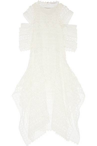Sale alerts for Tiered crocheted lace dress Chloé - Covvet