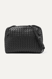 Bottega Veneta Messenger small intrecciato leather shoulder bag