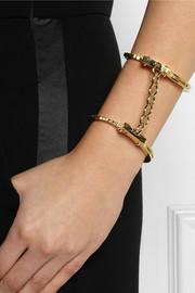 Jennifer FisherHandcuff gold-plated double cuff