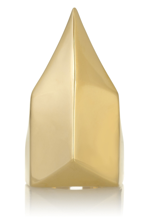 Jennifer Fisher Talon gold-plated ring