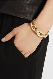 Jennifer FisherGold-plated chain-link cuff