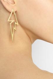 Jennifer FisherVapor 14-karat yellow gold-plated earrings