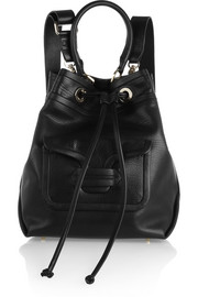 Pierre Hardy Grained-leather shoulder bag
