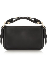 Small Obsedia bag in black leather