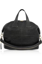 Medium Nightingale bag in black leather