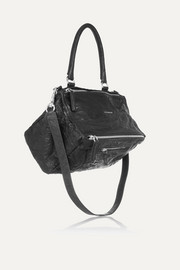 Medium Pandora bag in washed-leather