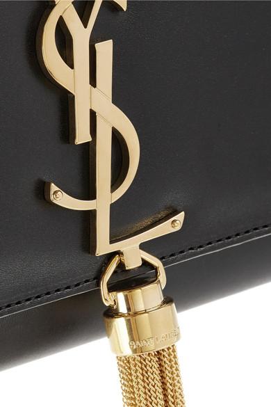 Saint Laurent Monogramme Leder-Clutch Billig Verkaufen Große Überraschung Kostenloser Versand Zu Kaufen Q4bxp69