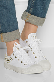 Converse Chuck Taylor All Star studded canvas sneakers