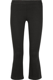 The Row Seeton mid-rise flared leggings