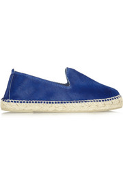 Manebi Dakota calf hair espadrilles