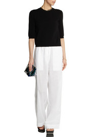 Marni Cotton-voile wide-leg pants