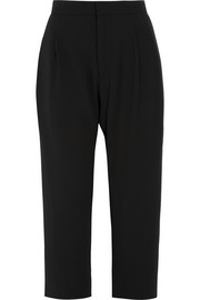 Marni Cropped crepe wide-leg pants