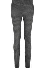 The Elder Statesman Ribbed cashmere pants
