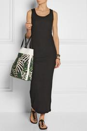 The Elder StatesmanRibbed cashmere maxi dress
