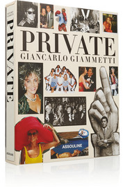 Private: Giancarlo Giammetti by Giancarlo Giammetti hardcover book