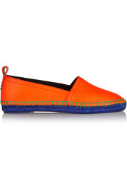 Loewe Textured-leather espadrilles