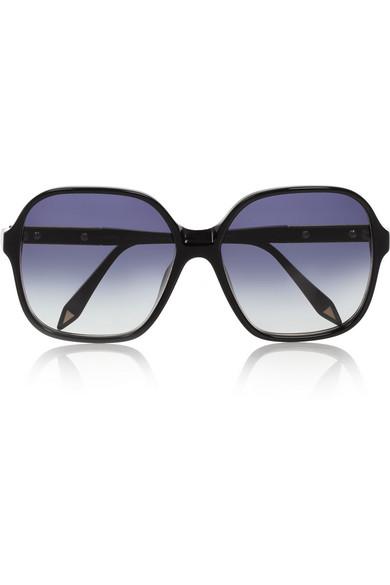 Sale alerts for Square-frame acetate sunglasses Victoria Beckham - Covvet