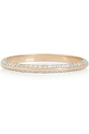 Ileana Makri 18-karat rose gold diamond eternity thread ring