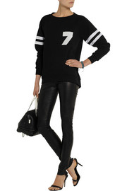 Karl Lagerfeld Rachel cotton-jersey sweater