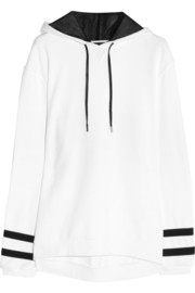 Karl Lagerfeld Samantha cotton-jersey hooded top