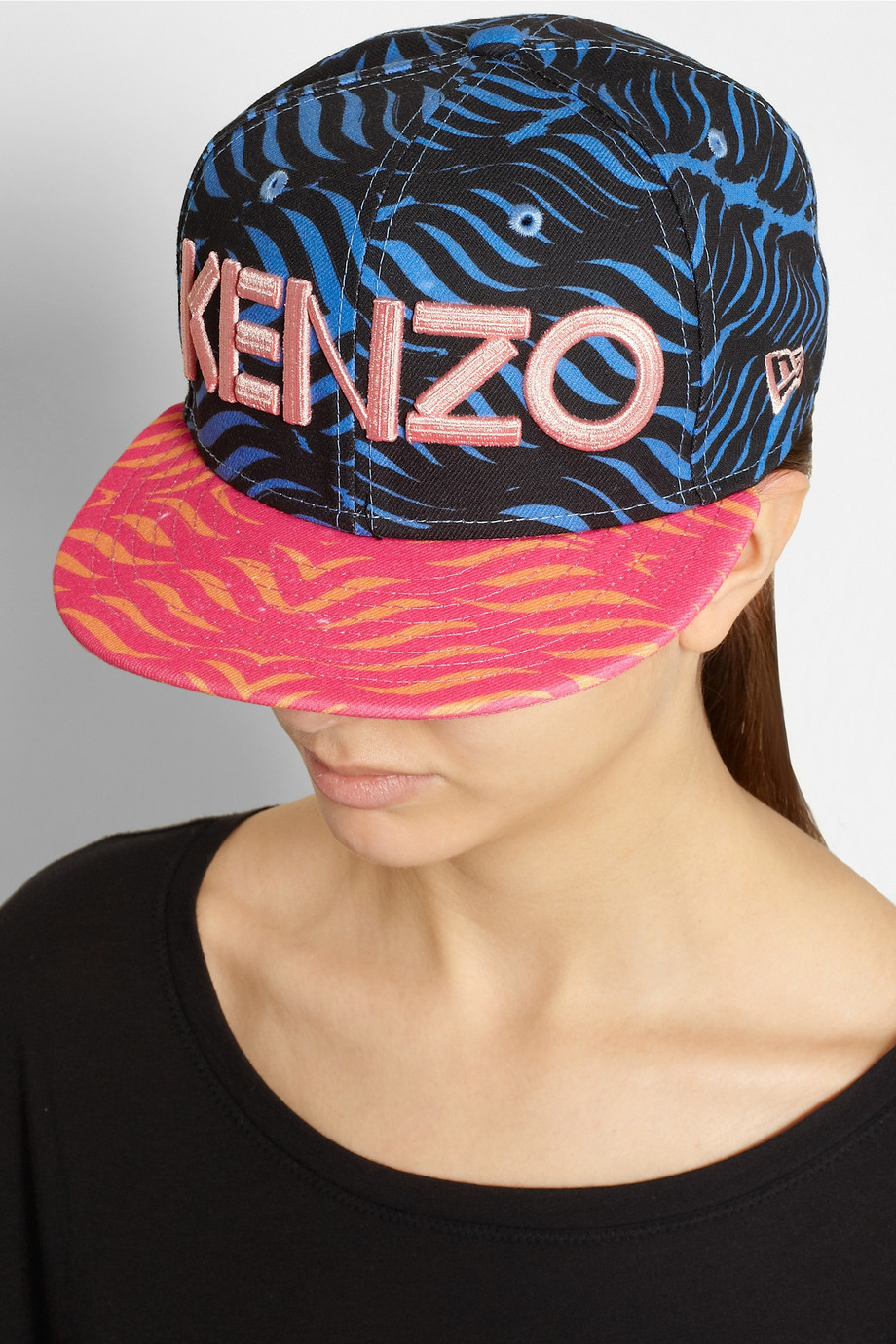 KENZO   New Era printed baseball cap   NET-A