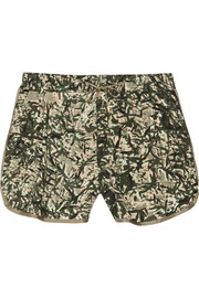 Wilder printed voile shorts