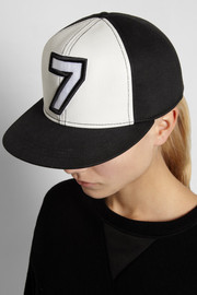 Karl Lagerfeld Number 7 cotton baseball cap