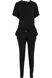 Stretch-jersey crepe jumpsuit