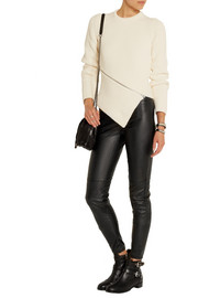 MICHAEL Michael Kors Faux stretch-leather leggings-style pants