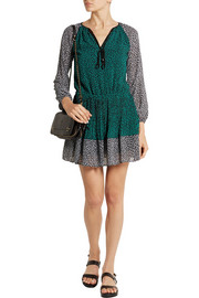 MICHAEL Michael Kors Printed georgette mini dress